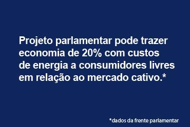 Parlamentares lançam projeto para alterar modelo de contratação de energia