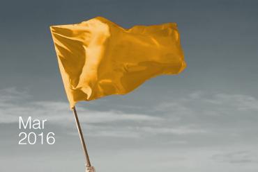 Bandeira tarifária amarela para março