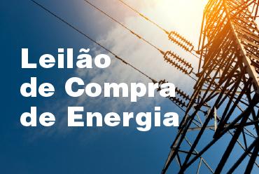 Leilão de Compra de Energia  Nº 01 – 2018