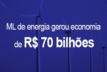 Mercado Livre de energia gerou economia de R$ 70 bilhões