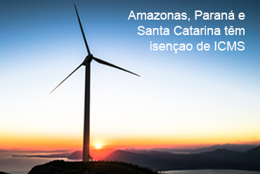 Energias renováveis têm isenção de ICMS