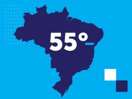 Brasil é o 55º em liberdade de energia elétrica