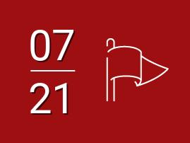 Bandeira vermelha patamar 2 para julho 2021
